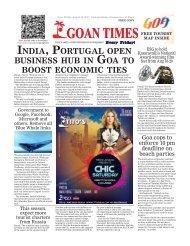 GoanTimes August, 18th 2017