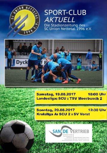 SPORT-CLUB AKTUELL - SAISON 17/18 - AUSGABE 2 - 19.08.2017