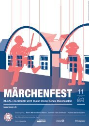 Märchenfest - Rudolf Steiner Schule Münchenstein
