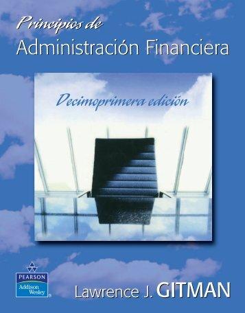 Principios de Administración Financiera, 11va Edición – Lawrence J. Gitman - FL