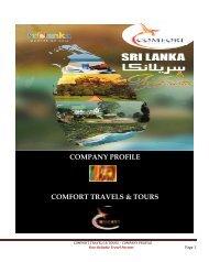 Comfort travel company profile
