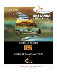 Comfort travel company profile