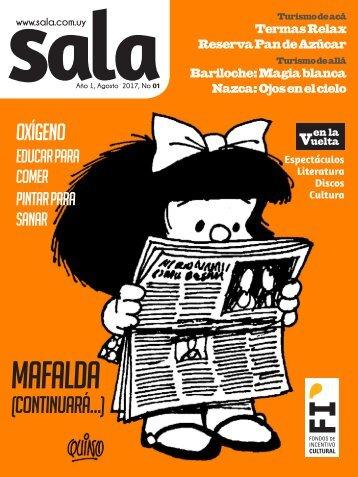 Revista Sala Nro. 1 Agosto 2017