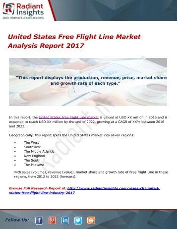 United States Free Flight Line Market Analysis Report 2017