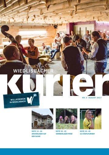 Wiedlisbacher Kurier 3/2017