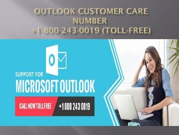 Outlook Customer Care Number