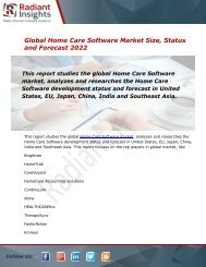Global Home Care Software Market Size, Status and Forecast 2022