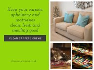 Clean Carpets Crewe