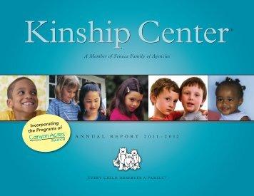 A Member of Seneca Family of Agencies - Kinship Center