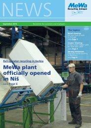 Download - MeWa Recycling Maschinen und Anlagenbau GmbH