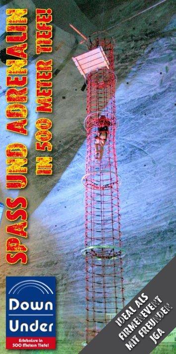 Down Under 500 im Bergwerk Merkers