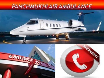 Get India's Best Air Ambulance Service in Delhi and Patna by Panchmukhi