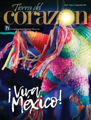 Revista Tierra del corazón Septiembre 2017