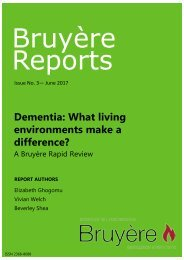 Final_Dementia what living environments make a difference