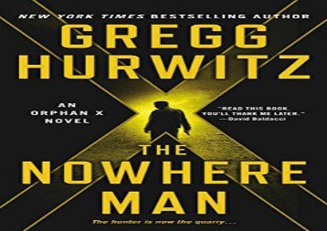 The Nowhere Man: An Orphan X Novel (Evan Smoak) (Gregg Hurwitz)