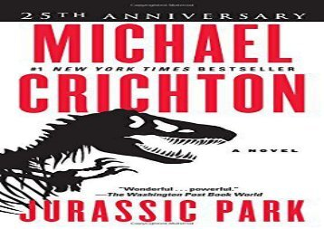 Jurassic Park: A Novel (Michael Crichton)