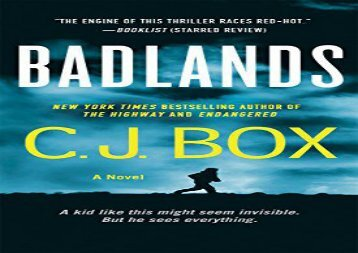 Badlands: A Novel (Highway Quartet) (C. J. Box)
