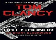 Tom Clancy Duty and Honor (A Jack Ryan Jr. Novel) (Grant Blackwood)