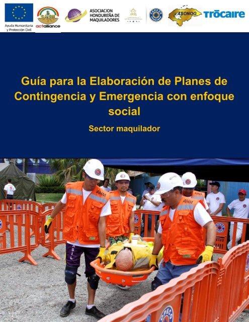 Guía Metodológica Plan de contingencia empresarial con enfoque social