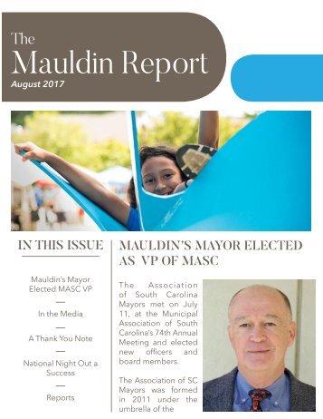 August 2017 Mauldin Report