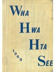 WHHS 1963