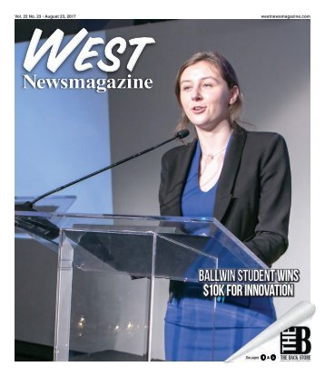 West Newsmagazine 8-23-17