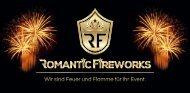 Arrangements mit Preisen der Firma Romantic Fireworks