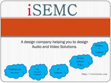 iSEMC - Video Wall Display Solutions