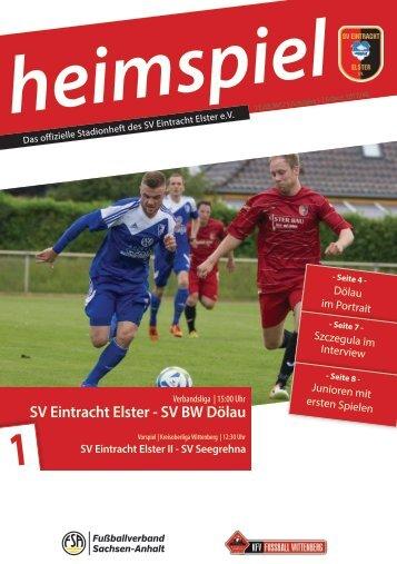 heimspiel 2017/18 - 1. Spieltag