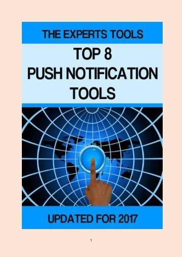 Top 8 Push Notification Tools