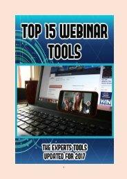 Top 15 Webinar Tools