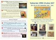 Todmorden Open studios 2017