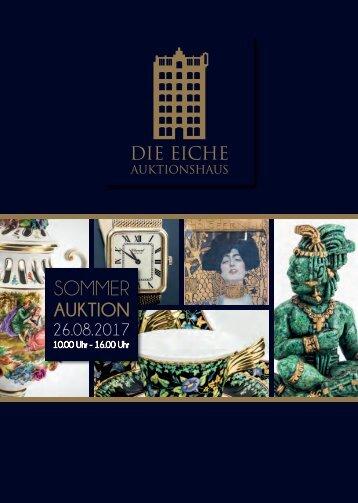 Sommer-Auktion 2017