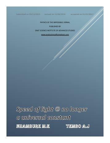 munya ashbold superluminal project UNScE