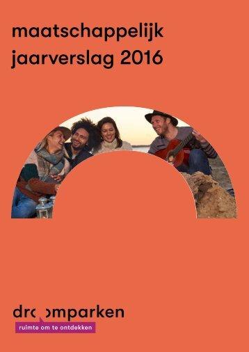 MAATSCHAPPELIJK JAARVERSLAG 2016