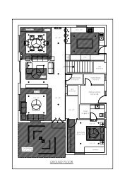 Villa 73-false ceiling lighting GF-Model