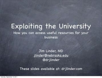 How you can access useful resources for your business Jim Linder ...