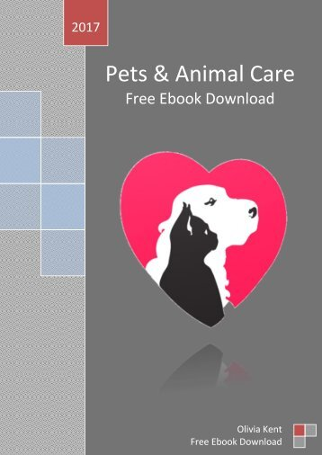 Pets & Animal Care Free Ebook