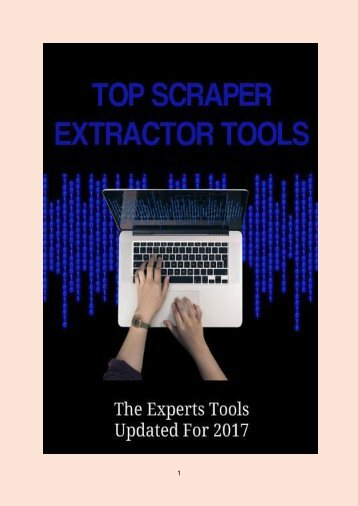 Top Scraper Extractor Tools