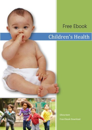 Children's Health Free Ebook