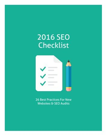 2016-seo-checklist-for-new-websites-seo-audits