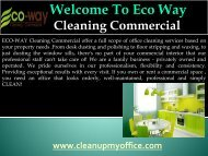 Professional floor care service in New
