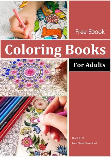 Coloring Books For Adults Ebook