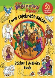 Download Ebook The Beginner s Bible Come Celebrate Easter Sticker and Activity Book -  Best book - By