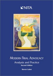 Best PDF Modern Trial Advocacy: Analysis and Practice -  Best book - By Steven Lubet