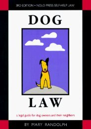 Download Ebook Dog Law (Dog Law, 3rd ed) -  Best book - By Mary Randolph
