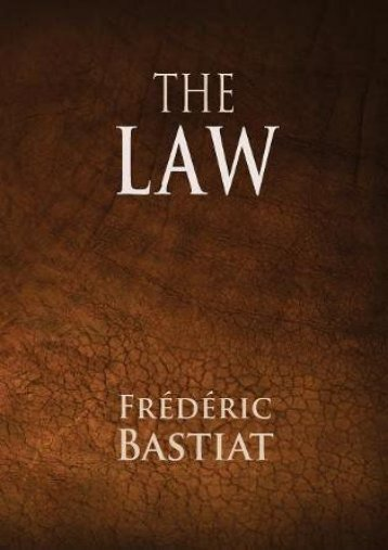 Download Ebook The Law -  Populer ebook - By Frederic Bastiat