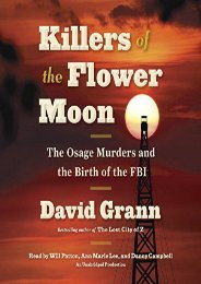 Unlimited Ebook Killers of the Flower Moon: The Osage Murders and the Birth of the FBI -  Populer ebook - By David Grann