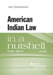 Unlimited Read and Download American Indian Law in a Nutshell (Nutshell Series) -  Best book - By William Canby Jr