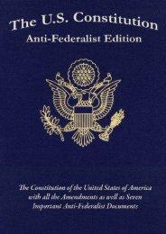 Full Download The U.S. Constitution: Anti-Federalist Edition -  Populer ebook - By Samuel Adams